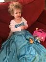 Princess Madeleine with her Disney princess entourage